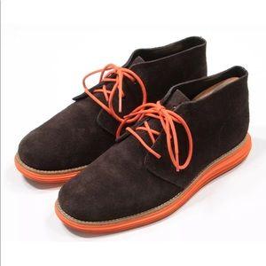 Cole Haan LunarGrand Lace-Up Boots Size 12